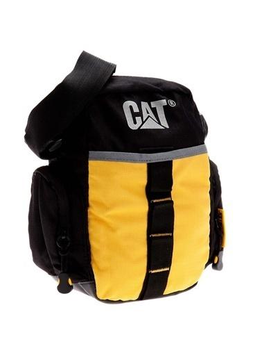 Caterpillar Messenger / Askılı Çanta Sarı